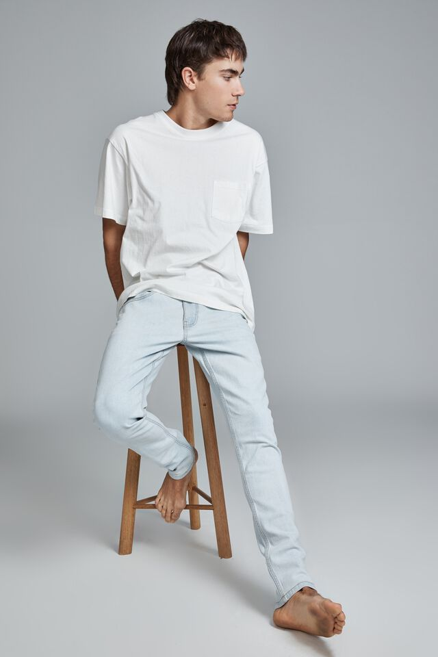Super Skinny Jean, LIGHT BLUE