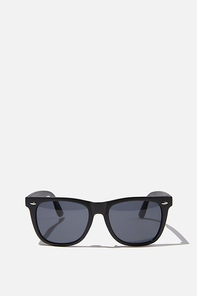 Beckley Sunglasses, MATTE BLACK/SMOKE