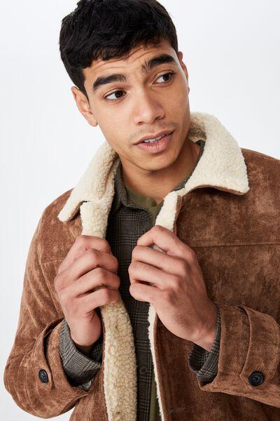 6e2e9357f06 Mens Jackets, Coats in Denim, Corduroy & Sherpa | Cotton On