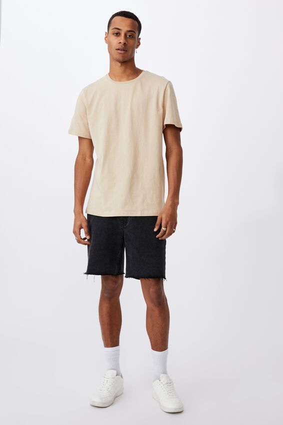 Essential Crew T-Shirt, CLAY STONE