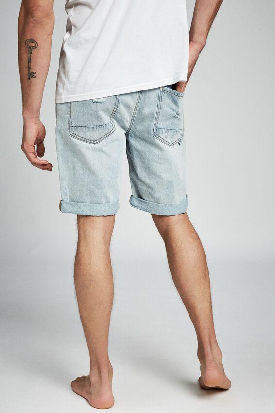 Roller Short, THRASHED INDIE BLUE