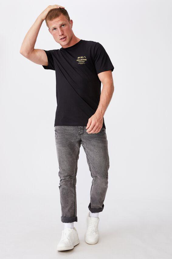 Tbar Cny T-Shirt, BLACK/DRAGON EIGHT