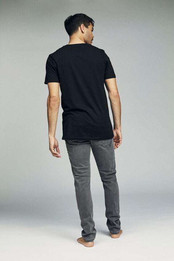 Slim Fit Jean, HOUND GREY + RIPS