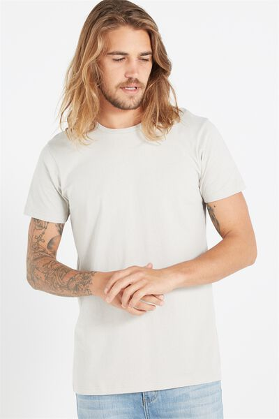Essential Crew Tee, SMOKE
