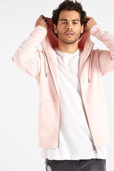 Neue Zip Hood, PALE PINK