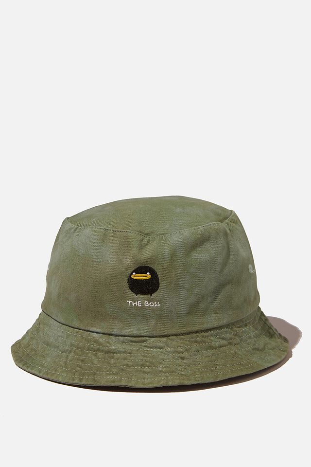 Special Edition Bucket Hat, LCN IRV THE BOSS/SPIRAL TIE DYE