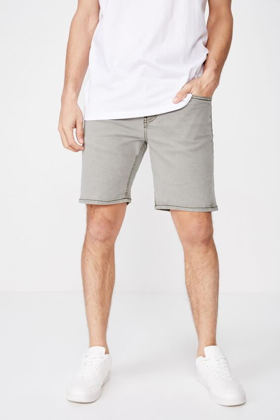 Straight Short, AGED KHAKI