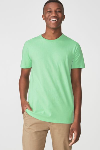 Essential Crew Tee, PATINA GREEN