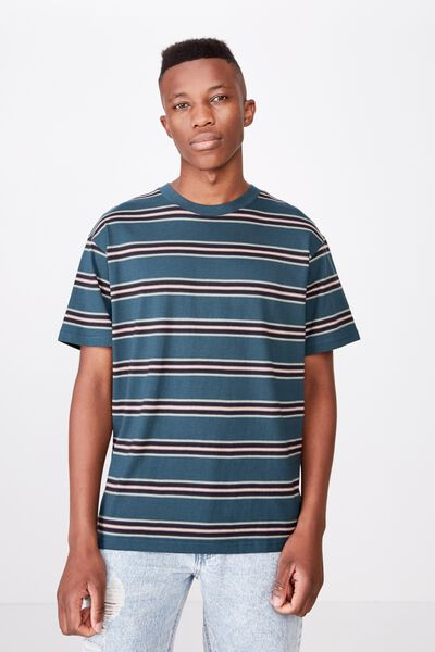 Dylan Tee, DEEP SEA TEAL/WASHED BLACK/SAUTERNE YELLOW/CADET P