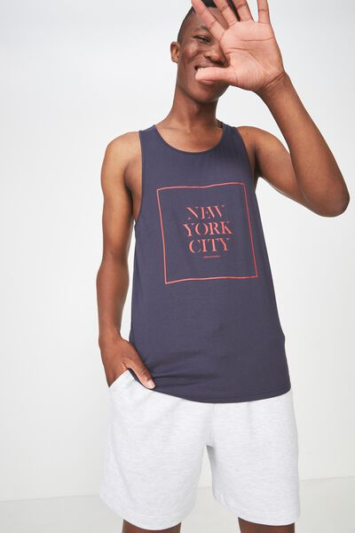 Tbar Anchor Tank, TRUE NAVY/NEW YORK CITY-URBAN JUNGLE