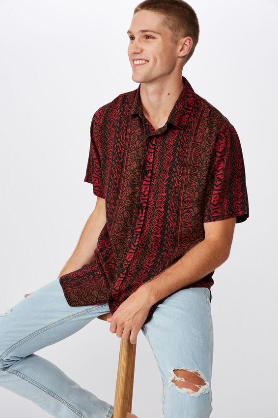 91 Short Sleeve Shirt, VERTICAL STATIC