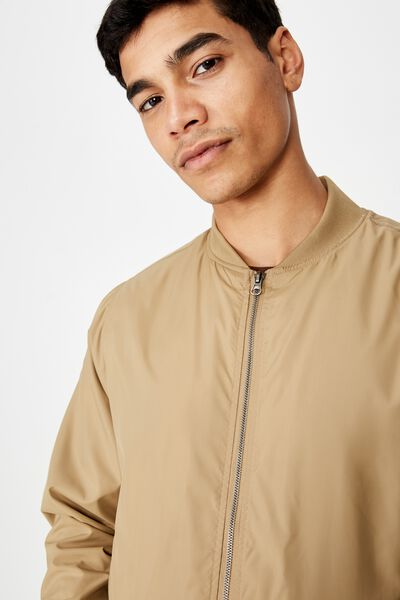 Resort Bomber Jacket, TAN