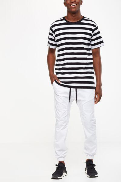 Drake Cuffed Pant, OFF WHITE