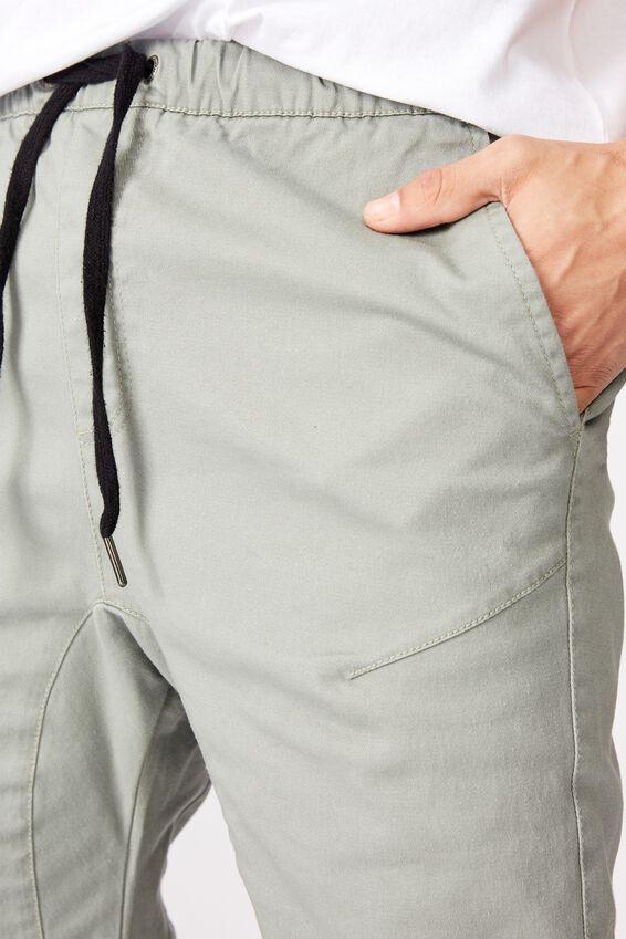Drake Cuffed Pant, MIST GREY