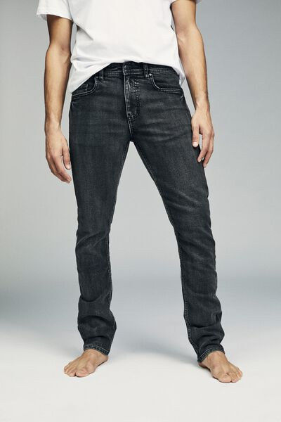 Slim Fit Jean, WORKER GREY