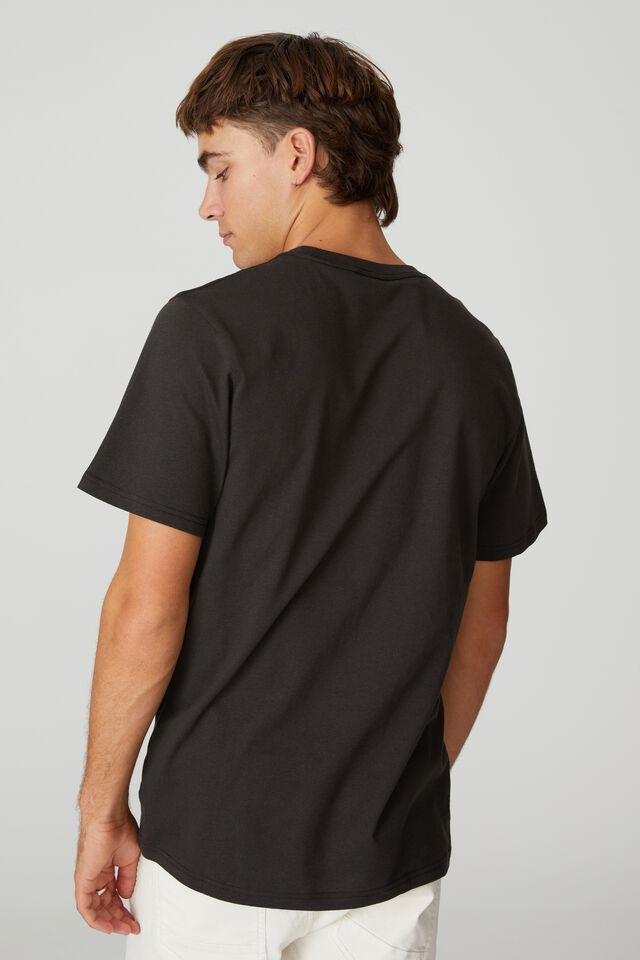 Tbar Collab Music T-Shirt, LCN MT WASHED BLACK/BIGGIE SMALLS - SIGNATURE