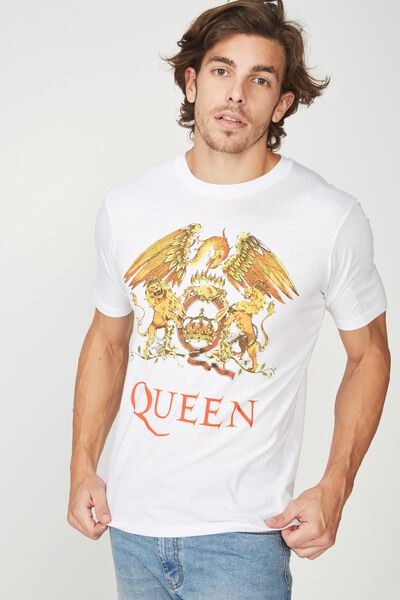 Tbar Collaboration Tee, LC WHITE/QUEEN
