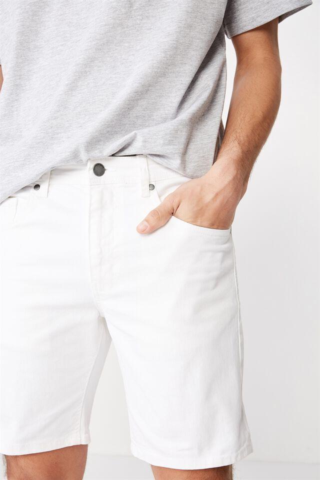 Straight Short, WHITE