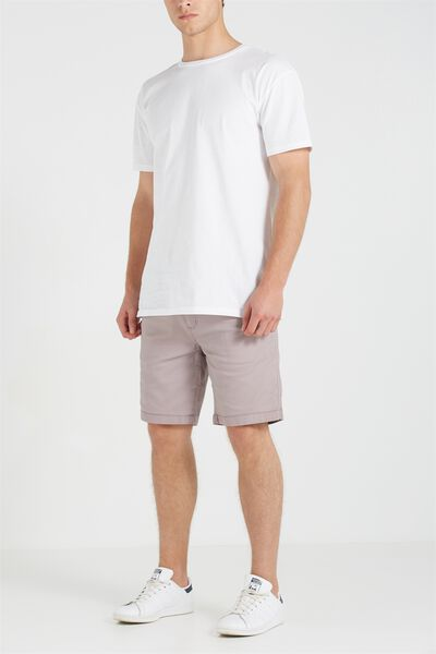 Tailored Casual Short, LILAC ICE