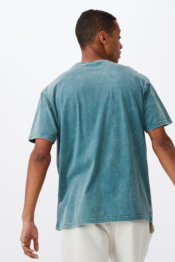 Washed Pocket T-Shirt, DARK TEAL