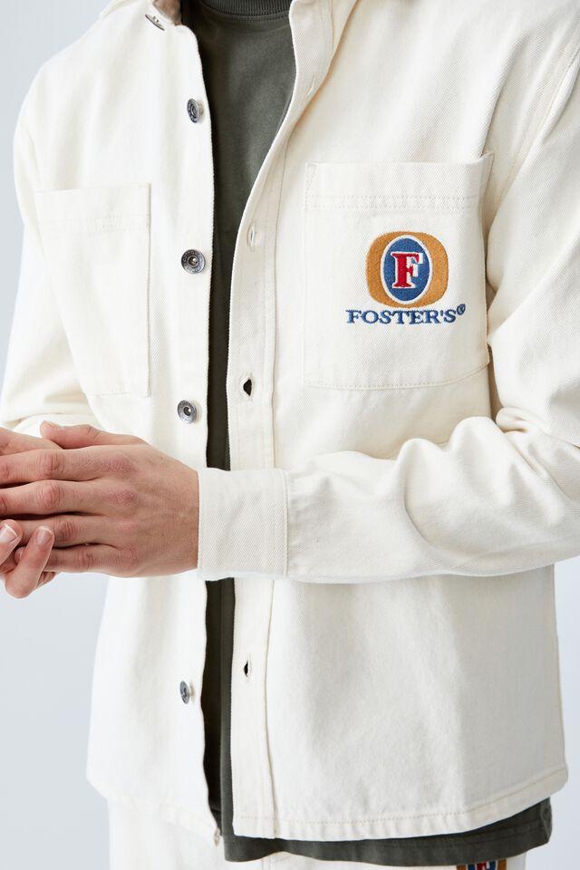 Fosters Worker Jacket, LCN CUB ECRU