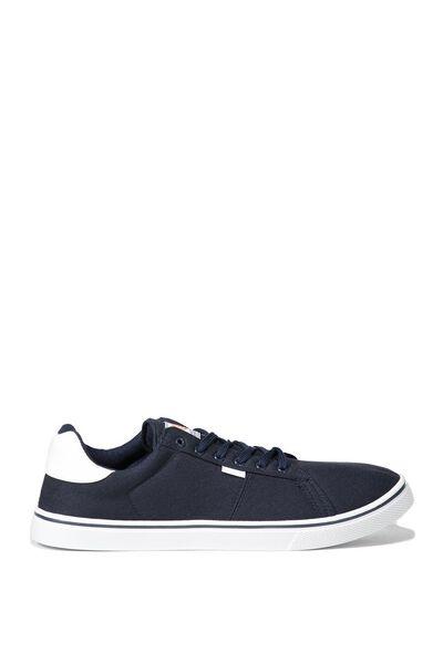 Cross Court Sneaker, NAVY