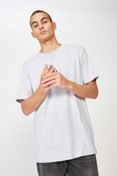 Essential Skate Tee, GREY MARLE