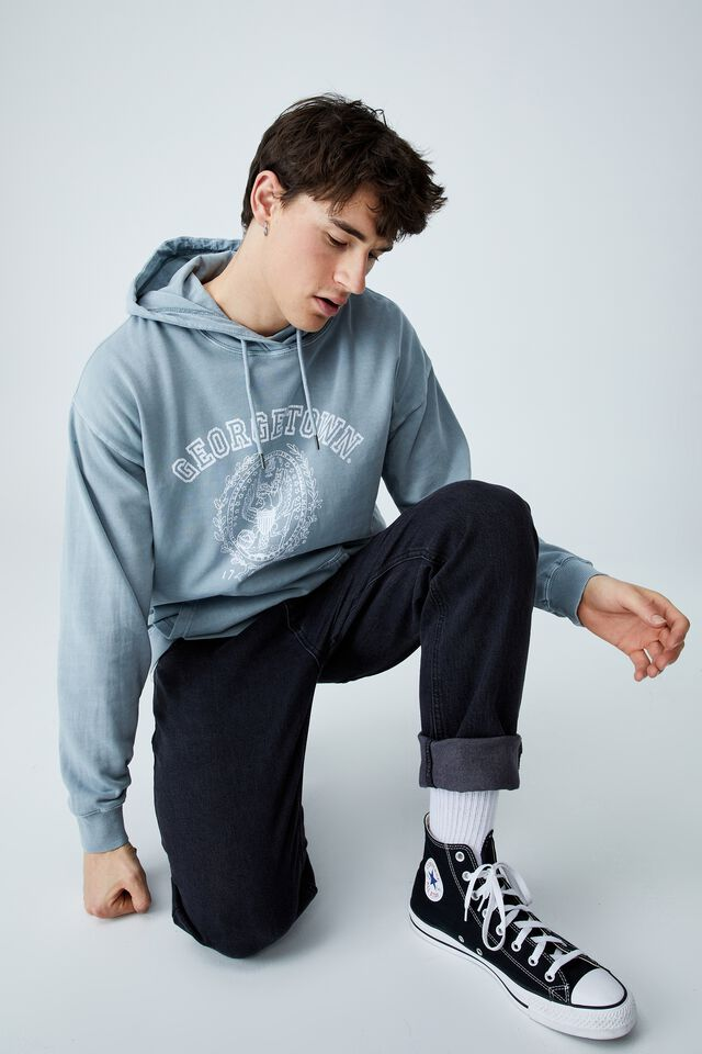 Premium Collab Fleece Pullover, LCN CITADEL/GEORGETOWN