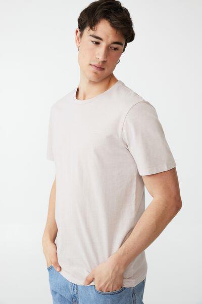 Organic Crew T-Shirt, ICED LILAC