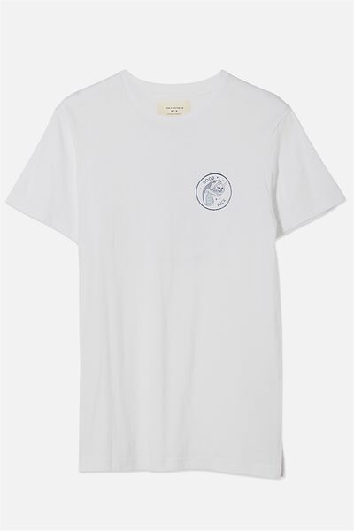 Tbar Tee, SP WHITE/GOOD LUCK