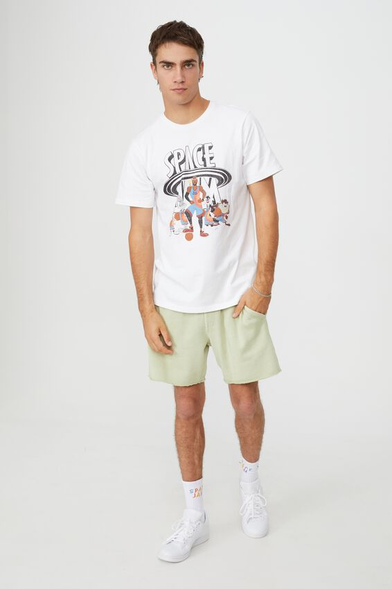Tbar Collab Movie And Tv T-Shirt, LCN WB WHITE/SPACE JAM 2 - TUNE SQUAD