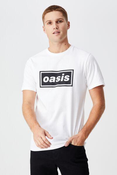 Tbar Collab Music T-Shirt, LCN PRO WHITE/OASIS - LOGO