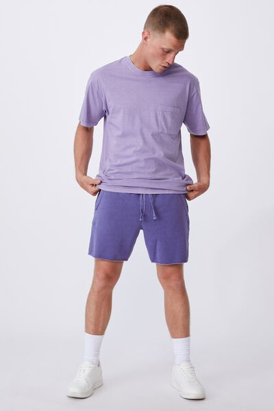 Pigment Fleece Short, PIGMENT PURPLE DREAM