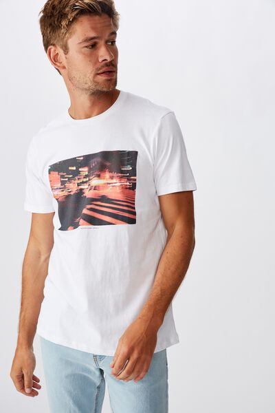 Tbar Photo T-Shirt, WHITE/EDITION 2