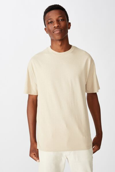 Essential Skate Tee, STONE CLAY