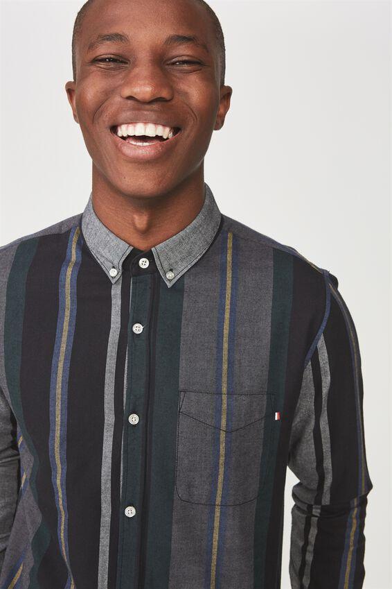 Brunswick Shirt 3, CROC STRIPE