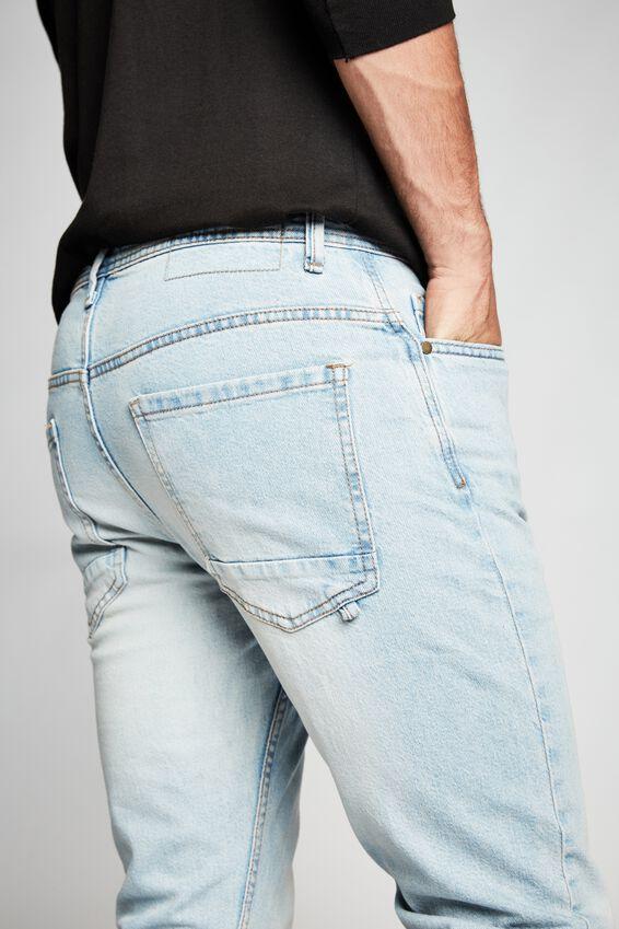 Tapered Leg Jean, OHIO BLUE