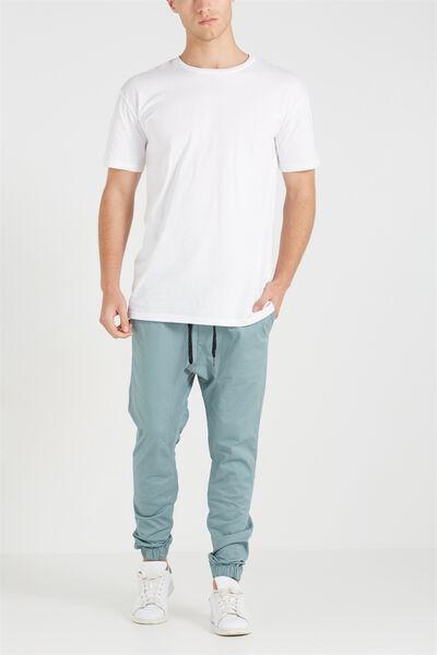 Drake Cuffed Pant, STEEL BLUE