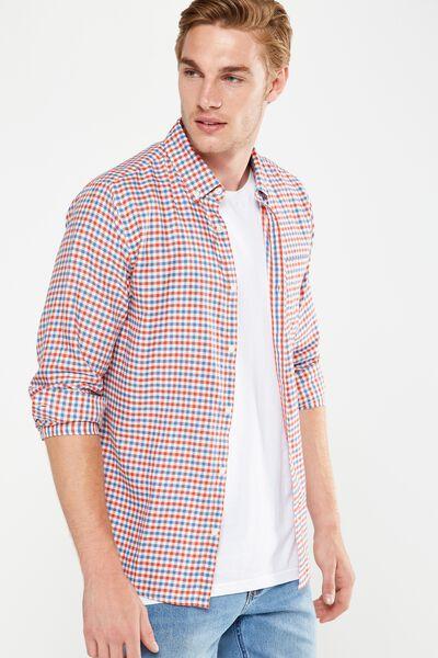 Brunswick Shirt 3, RED CHECK
