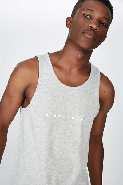 Tbar Anchor Tank, LIGHT GREY MARLE/5 BOROUGHS CHEST