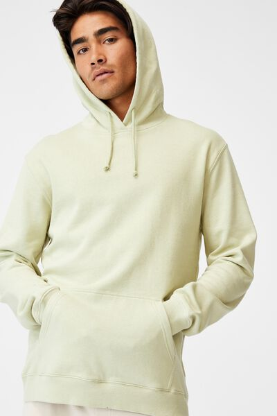 Essential Fleece Pullover, PASTEL GREEN