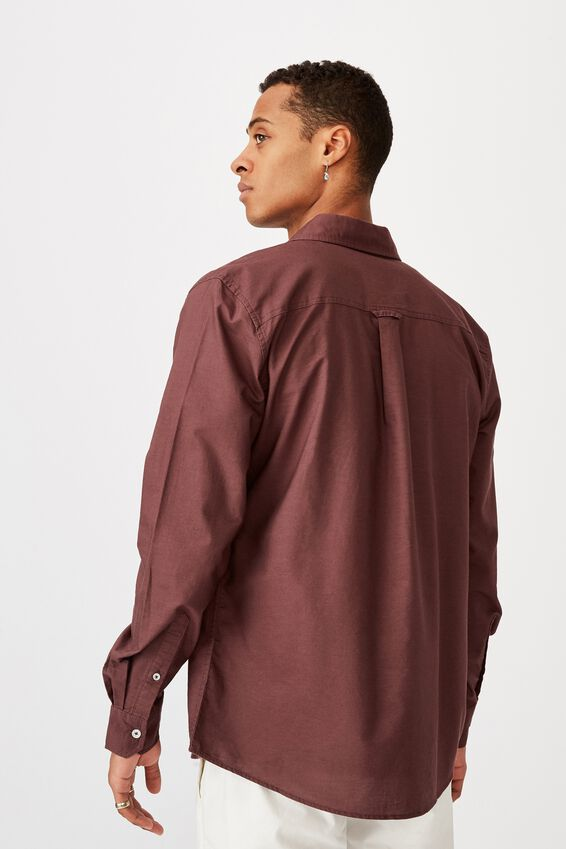 Brunswick Shirt 3, PLUM