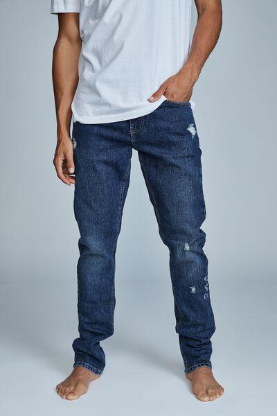Slim Fit Jean, SOUTHSIDE BLUE RIPS