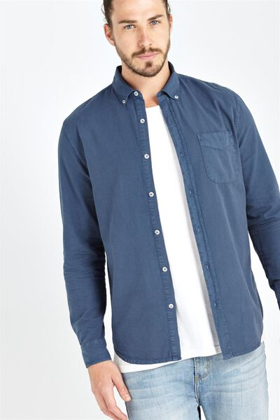 Brunswick Shirt 3, NAVY