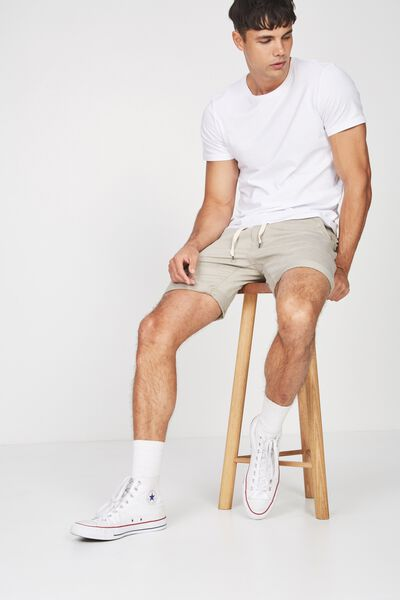 Tailored Casual Short, WASHED STONE