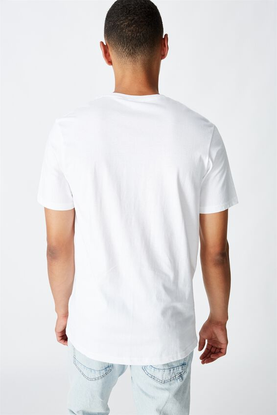 Tbar Street T-Shirt, WHITE/UNKNOWN FLORAL