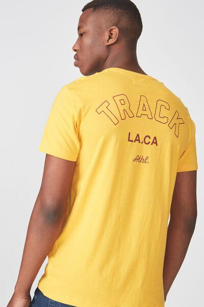 Tbar Tee 2, ARTISANS GOLD/TRACK LACA
