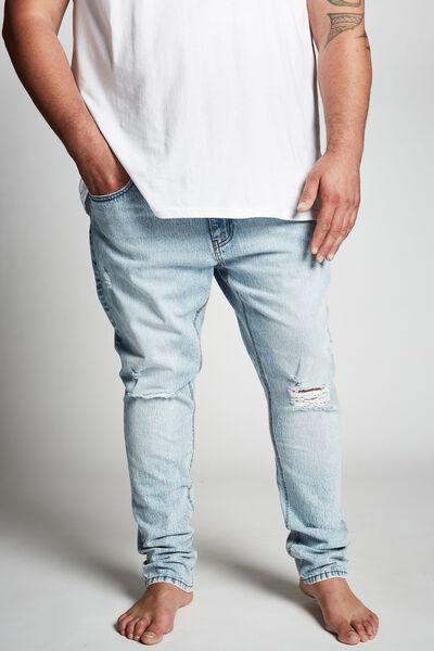 Slim Fit Jean, GRAVITY BLUE+ RIPS
