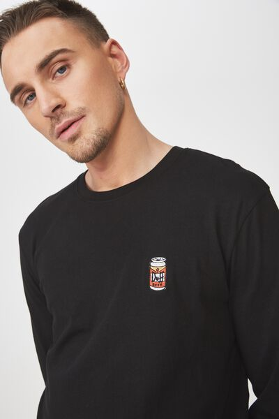Tbar Collaboration Ls Tee, LC BLACK/DUFF