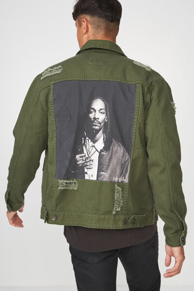 Rodeo Collaboration Jacket, SNOOP DOG/KHAKI